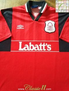 Relive Nottingham Forest's 1994/1995 season with this original Umbro home football shirt.