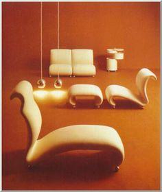 verner panton, upholsered seating system - Google 検索