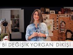 Bi Değişik Yorgan Dikişi | Bi Değişik Dikiş Okulu - YouTube