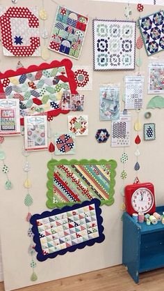 Thimble blossoms booth at Quilt Market, Houston 2014. Love it all!