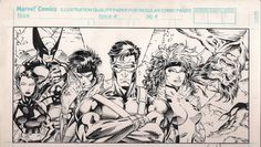 The Marvel Age of Comics, travisellisor: 1991 ad for X-Men #1 by Jim Lee...