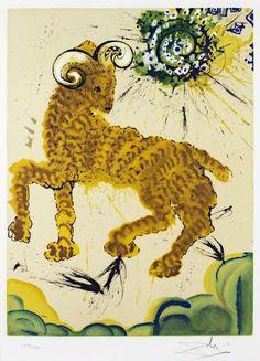 Salvador Dali Zodiac Series