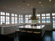 Spacious Kitchen Design. Great spacious kitchen. #Kitchen