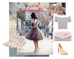 """""""Be princess- tulle tutu skirt"""" by flowersandbutterflies15 ❤ liked on Polyvore featuring GUESS, Christian Louboutin and Miss Selfridge"""
