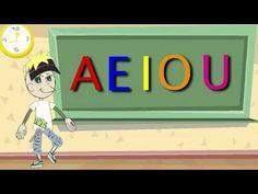 La Canción de las Vocales - A E I O U - Educación Infantil - Pre-escolar...