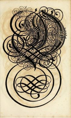 17th century calligraphy from Germany.