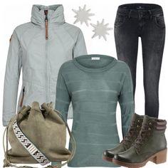 Freizeit Outfits: Minzgruen bei FrauenOutfits.de #fashion #fashionista #damenmode #frauenmode #mode #outfit #damenoutfit #frauenoutfit #inspiration #kleidung #anlass #bekleidung #casual #elegant