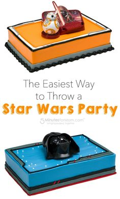 The Easiest Way to Throw a Star Wars Party | sponsored | Star Wars Cake