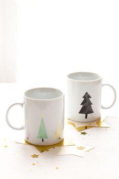 Christmas mug by etsy.com/shop/Asleepfromday