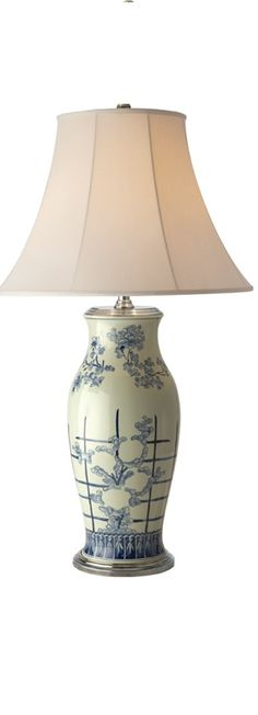 Instyle Decor Chinese Blue White Porcelain Table Lamps Simply Beautiful Over 3 500 Clic Designs Inspirations Now On Line To Enjoy Pin