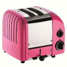DUALIT 2 Slice NewGen Classic Toaster Chilly Pink $199.95 LOWEST PRICE ANYWHERE-GUARANTEED...PICK UP OR WE WILL SHIP FREE WORLDWIDE... 100% MONEY BACK SATISFACTION GUARANTEE www.shopculinart.com