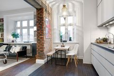 design Swedish apartment Delightful One Room Scandinavian Crib With Plenty of Living Space