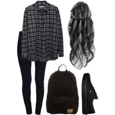 casual black