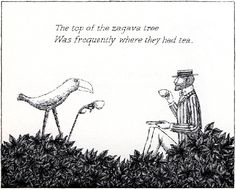 Edward Gorey. Zagava tree