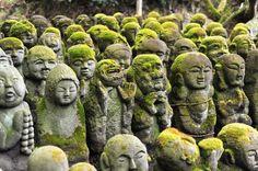 Rakan stone scultures, 嵐山 愛宕念仏寺 Otagi Nenbutsu-Ji