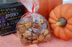 Chex Pumpkin Pie Crunch. Such an awesome and easy recipe...perfect for a fall snack!
