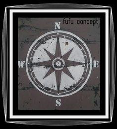 Compass / Home decor / Travel decor / wooden signs