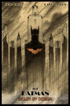 Batman Death by Design promo art