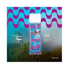 R$ 120,00 -10% R$ 108,00 ♀-Novo Thipos 103 - Personalizado Olimpíadas 55ml Uma linda edição limitada com um frasco personalizado com a imagem do Bondinho do Pão de Açucar, em comemoração aos Jogos Olímpicos Rio 2016, realizados no Rio de Janeiro.
