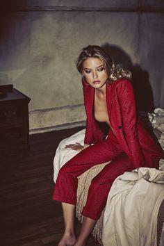 So It Goes Magazine Fall Winter 2015 Model: Martha Hunt Photographer: Guy Aroch Fashion Editor: Liz McClean