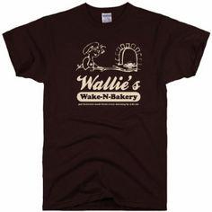 Wallie/'s Wake /& Bake Bakery Weed Edibles Legal bud tree MJ Funny Stoner T-Shirt