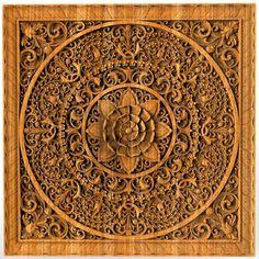 Mandala Wood carving Oriental Home decor wood wall art Wooden Bed Panel Oriental Wall ornaments Home Decor Wall Art, Wood Wall Art, Wall Canvas, Wall Ornaments, Art Carved, Carved Wood, Wood Gifts, Handmade Home Decor, Etsy Handmade