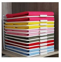 Roichen Easy Tray Closet Clothes Organizer Storage & Organization System 1 Set, Tray 30EA + Guide 3EA + Easy Folder 1EA(Gift) #Roichen #Easy #Tray #Closet #Clothes #Organizer #Storage #Organization #System #Set, #Guide #Folder #EA(Gift)