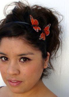 Monarch Butterflies hair band!