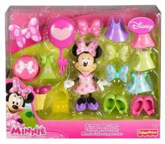 Fisher-Price Disney's Minnie Mouse Birthday Bowtique -Get Minnie ready for a birthday party!-