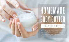 Homemade Body Butter Recipe [Video] Be kind to your hard-working skin! This homemade body butter recipe will leave your skin moisturized and soft, thanks to rich cocoa butter and coconut oil. We lo… Whipped Coconut Oil, Whipped Body Butter, Coconut Oil For Skin, Organic Coconut Oil, Young Living Oils, Young Living Essential Oils, Homemade Body Butter, Butter Ingredients, Frankincense Essential Oil