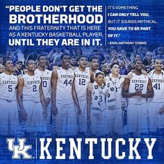 Kentucky basketball: a fraternity for life