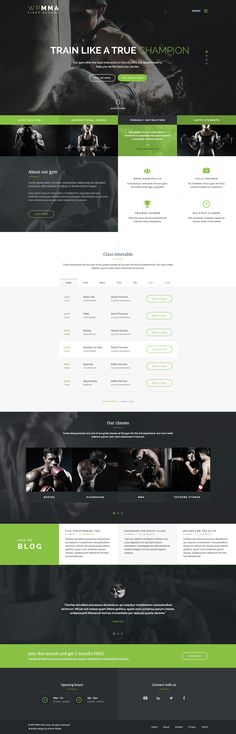 WP MMA - Gym & Fitness HTML Template #site #mma #bodybuilding • Download ➝ https://themeforest.net/item/wp-mma-gym-fitness-html-template/14723620?ref=pxcr