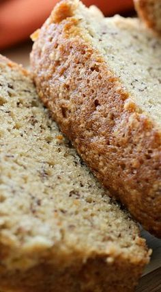 Tastee Recipe Turn Your Spotty Bananas into a Bread Like You've Never Had! - Page 2 of 2 - Tastee Recipe Yummy Treats, Delicious Desserts, Dessert Recipes, Yummy Food, Sweet Treats, Banana Bread With Oil, Best Banana Bread, Bolo Red Velvet, Tastee Recipe