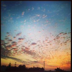Ibiza's sky