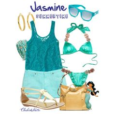 """Jasmine Summertime"" by cheshirehatter on Polyvore"