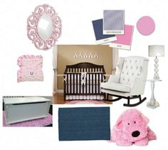 Try our Bellini's (free) Design Board tool to help put your nursery look together.  #designboard #nursery #bellini
