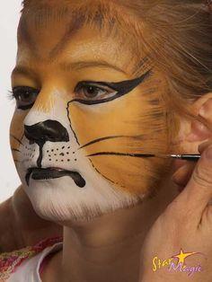 Leeuw schminken