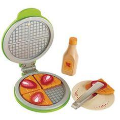 Hape Waffle Iron Wooden Playset