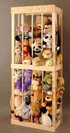 Stuffed animal holder…maybe rob can make it
