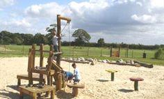 Children playing in the sandpit at Kilkenny Lane