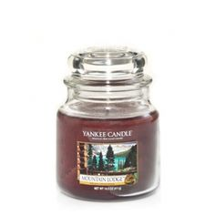 Mountain Lodge Medium Jar Candle Yankee Smells Like A Great Men S Cologne