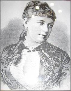 Графиня  Зинаида Дмитриевна Богарне, 2-я супруга герцога Евгения Лейхтенбергского.