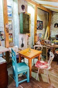 Aquarella, un bistrot coloré à Bucarest | ATELIER RUE VERTE le blog