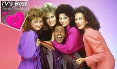 Annie Potts, Jean Smart, Meshach Taylor, Delta Burke, Dixie Carter (Credit: CBS/Everett Collection)