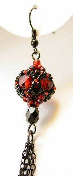 "Handmade earrings. Fair Masters - handmade earrings ""The Passion According to Carmen"" SOLD. Handmade."