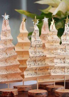 adorno navidad diy hazlo tu mismo piñas renos árbol navideño hogar decoración inspiración