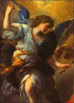 ☜♥☞ Archangel Gabriel - is an angel who typically serves as a messenger to humans from God. Gabriel appears to the virgin Mary & to Zechariah, foretelling the births of Jesus & John the Baptist, respectively (Luke ☜♥☞ Saint Gabriel, Religion, Archangel Gabriel, Archangel Raphael, I Believe In Angels, Angels Among Us, Angels In Heaven, Heavenly Angels, John The Baptist