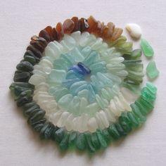 thestylishgypsy:  Sea Glass Colour Wheel: Tideline Designs