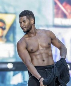Usher!~!~ I printed off this picture(; lol..