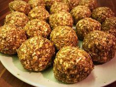 Zabgolyó (mindenmentes) Egg Free Recipes, Oatmeal Recipes, Diabetic Recipes, Vegetarian Recipes, Healthy Recipes, Healthy Cookies, Healthy Sweets, Healthy Snacks, Paleo Dessert